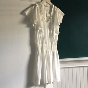 Parker Remington white dress